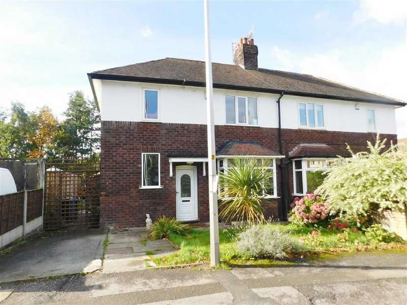 3 Bedrooms Semi Detached House for sale in Springbank Road, Woodley, Stockport