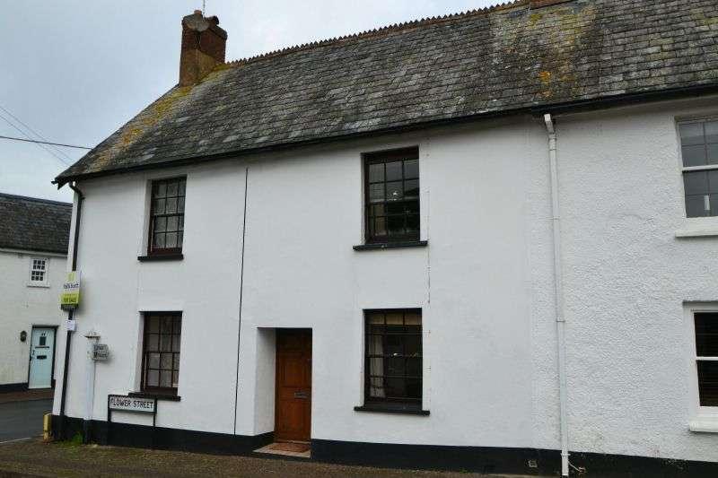 2 Bedrooms Terraced House for sale in FLOWER STREET, WOODBURY, EXETER, DEVON