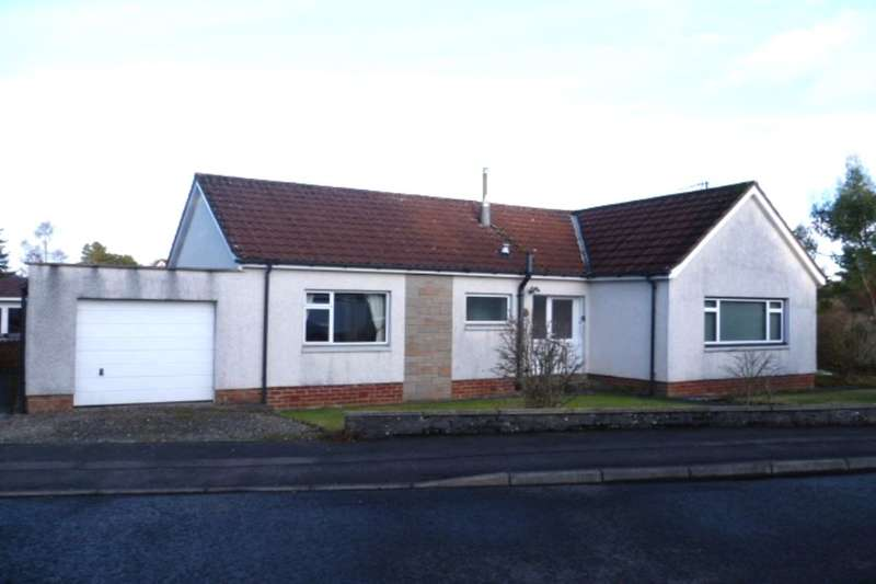 3 Bedrooms Detached Bungalow for sale in Orchil Crescent, Auchterarder, PH3