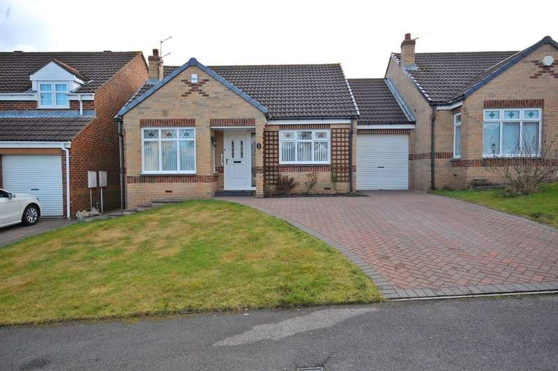 2 Bedrooms Detached Bungalow for sale in Priory Court, Sacriston, Durham