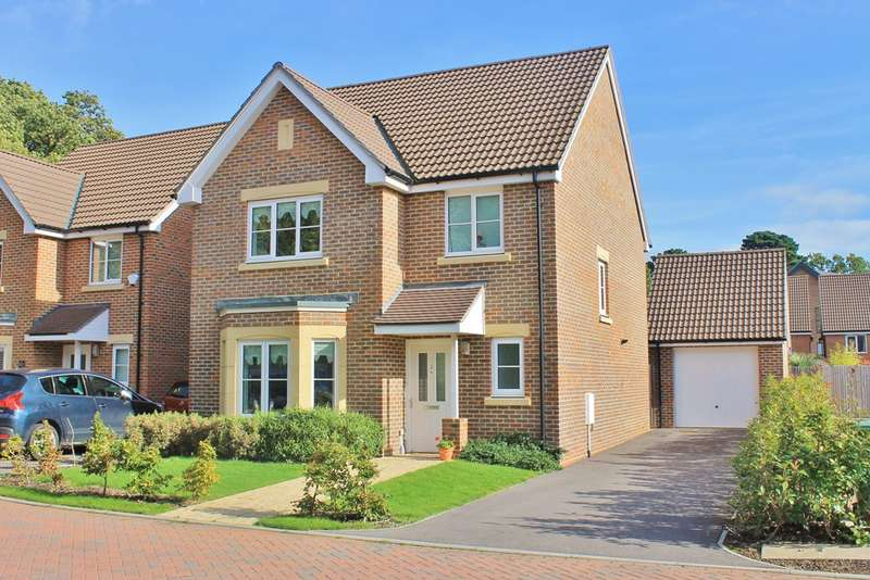 4 Bedrooms Detached House for sale in Sarisbury Green