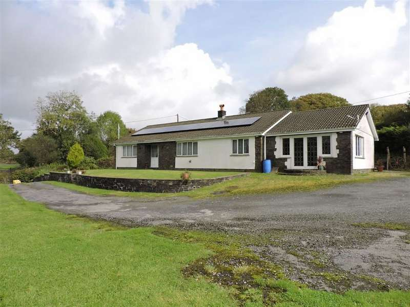 3 Bedrooms Detached Bungalow for sale in Argoed Road, Betws
