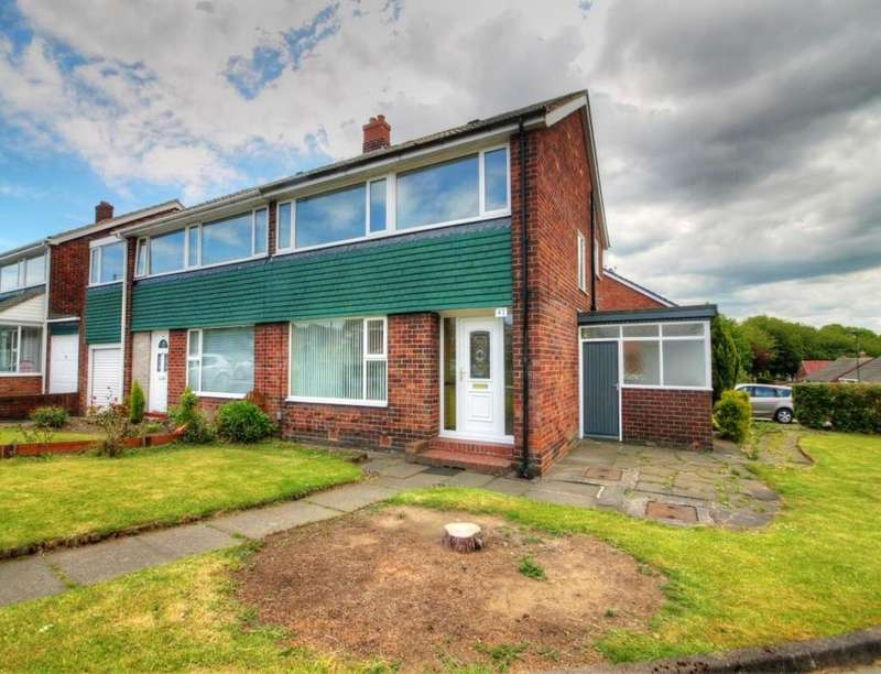 3 Bedrooms Semi Detached House for rent in Hillhead Parkway, Newcastle Upon Tyne, NE5