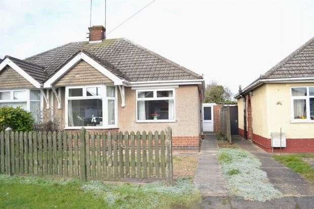 2 Bedrooms Semi Detached Bungalow for sale in Lorraine Crescent, Spinney Hill, Northampton NN3 6HW