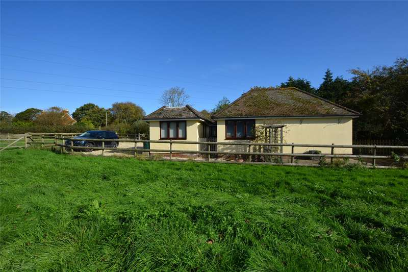 4 Bedrooms Detached Bungalow for sale in Wootton Road, Tiptoe, Lymington, Hampshire, SO41