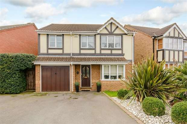 4 Bedrooms Detached House for sale in Canons Gate, Cheshunt, Waltham Cross, Hertfordshire