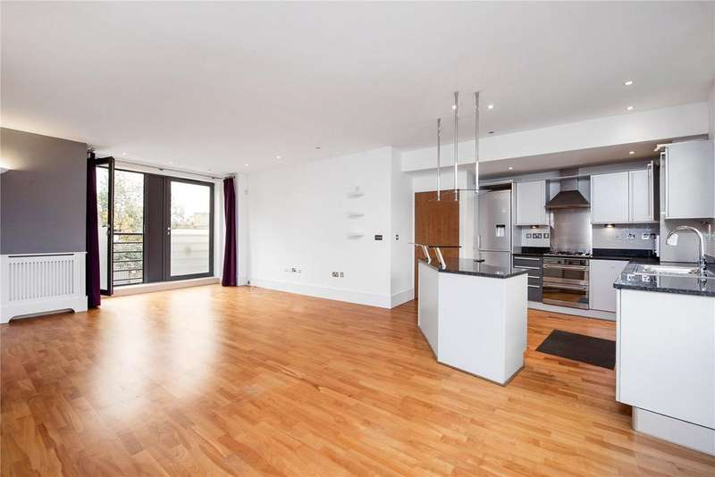 2 Bedrooms Flat for sale in Salcott Road, Battersea, London, SW11