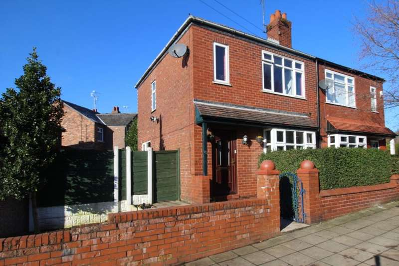 2 Bedrooms Semi Detached House for sale in Crescent Road, Stockport, SK1