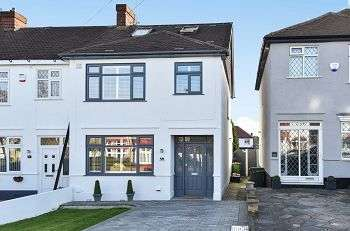 4 Bedrooms End Of Terrace House for sale in Cranmore Road, Chislehurst, Kent, BR7 6ER