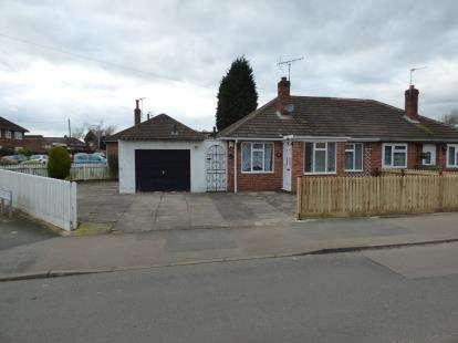 2 Bedrooms Bungalow for sale in Blenheim Road, Birstall, Leicester, Leicestershire