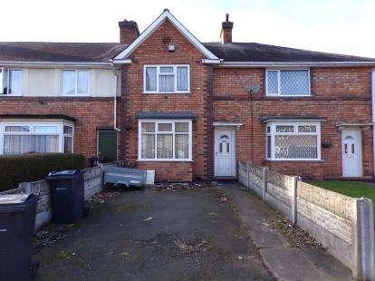 3 Bedrooms Terraced House for sale in Cranbourne Road, Kingstanding, Birmingham, West Midlands