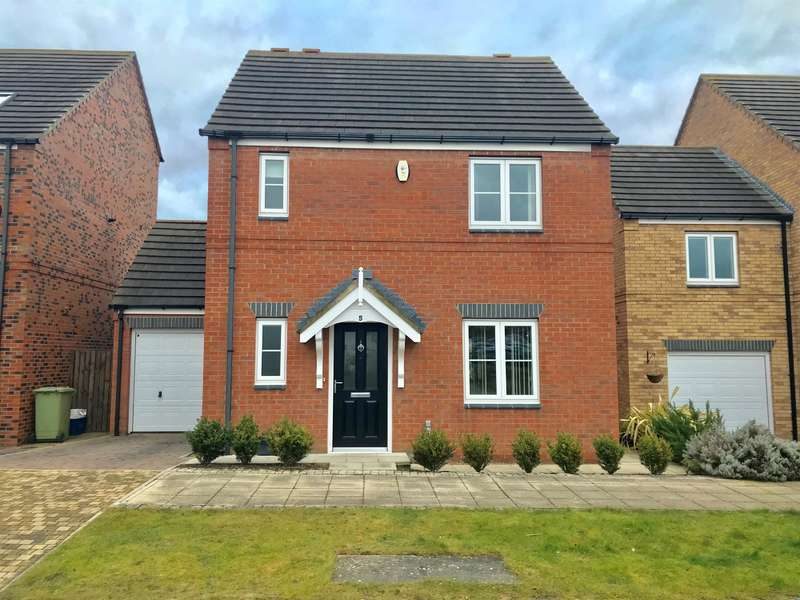 3 Bedrooms Detached House for sale in Brooklime Avenue, Stockton-on-Tees, TS18 3RS