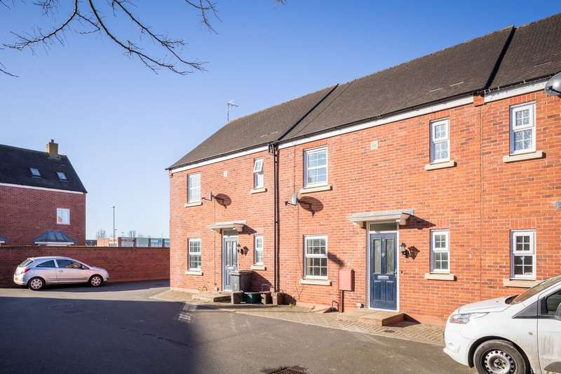 3 Bedrooms Terraced House for sale in Buchan Drive, Kingsway, Gloucester, GL2 2EA