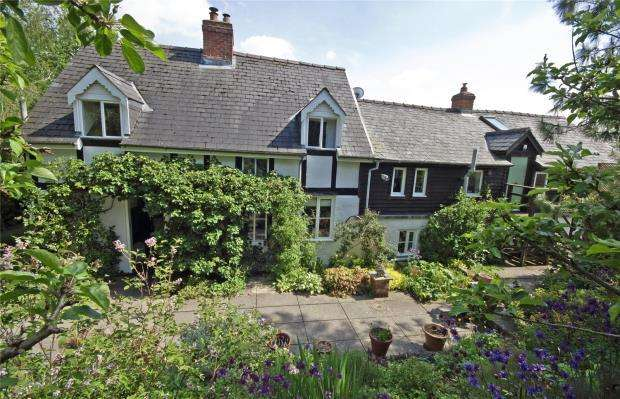 4 Bedrooms House for sale in Minhafren Mill, Aberbechan, Powys