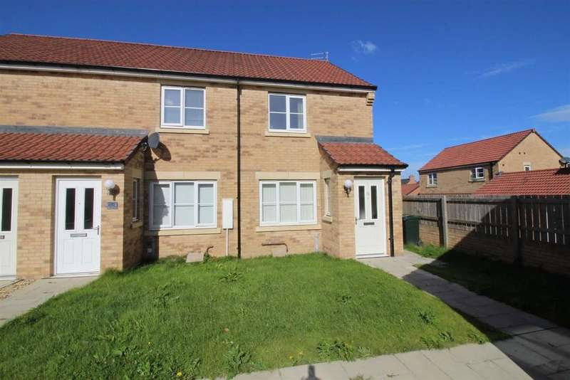 2 Bedrooms Semi Detached House for rent in Countess Way, Earsdon View, Shiremoor