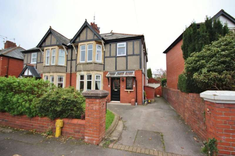 3 Bedrooms Semi Detached House for sale in St.Marys Road, Whitchurch, Cardiff