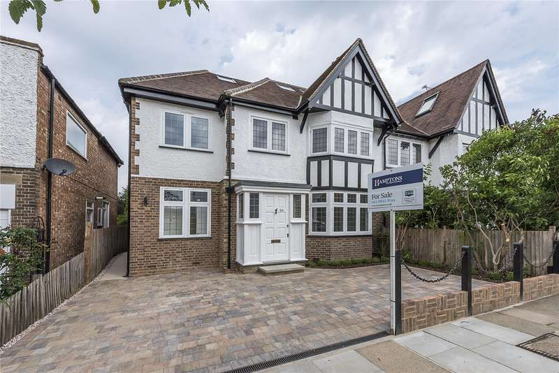 5 Bedrooms Semi Detached House for sale in Bonser Road, Twickenham, TW1