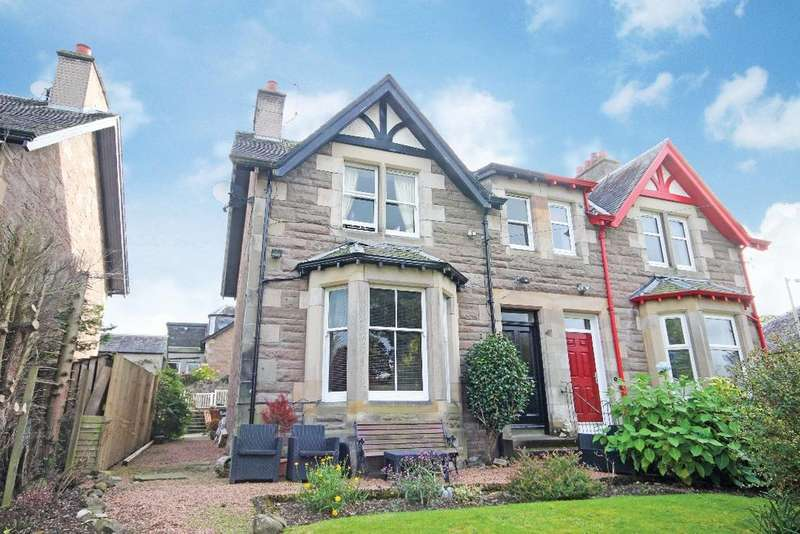 4 Bedrooms Semi Detached House for sale in Clifton Bank, Perth, Perthshire , PH2 0DJ