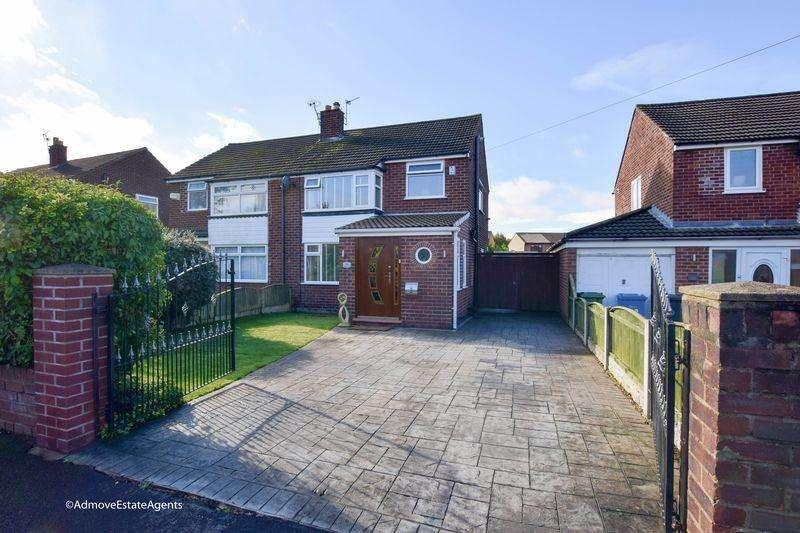 3 Bedrooms Semi Detached House for sale in Dunmow Road, Warrington