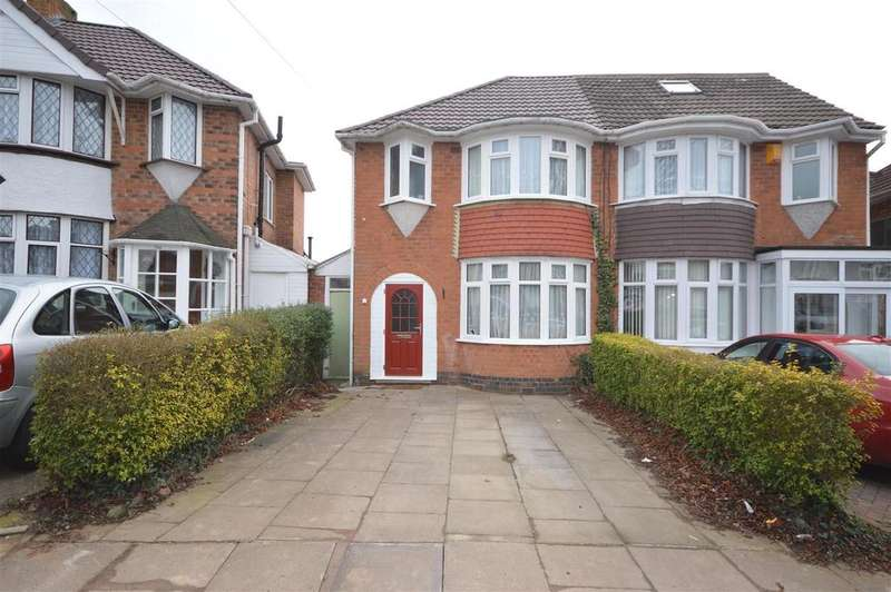 3 Bedrooms Semi Detached House for sale in Gilbertstone Avenue, Birmingham