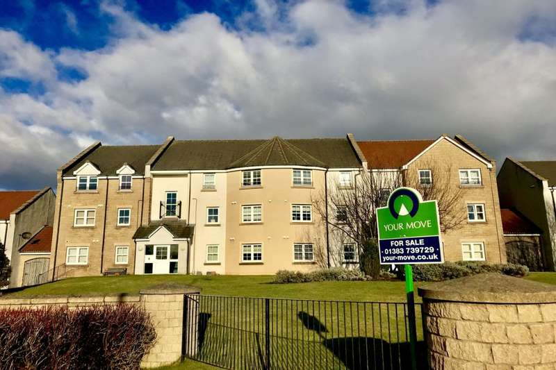 2 Bedrooms Flat for sale in Peploe Rise, Dunfermline, KY11