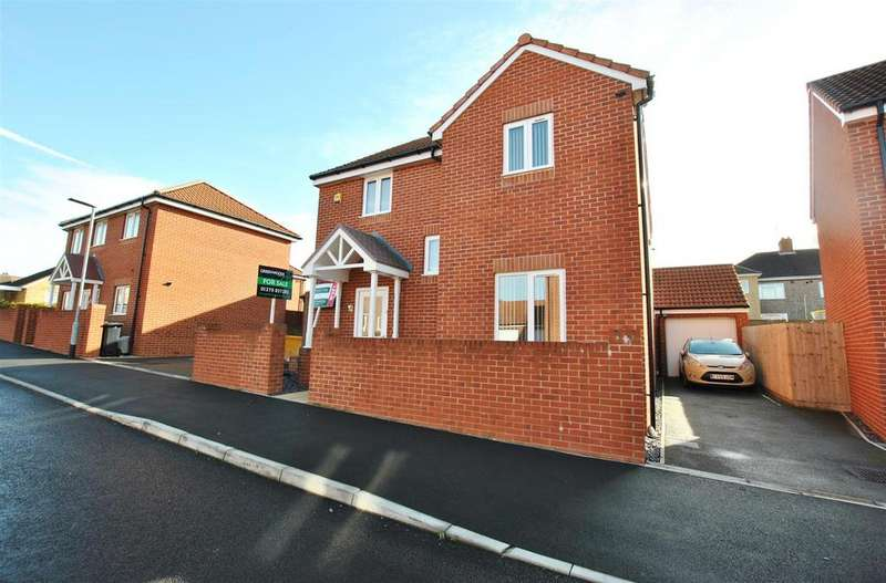 4 Bedrooms Detached House for sale in John Hall Close, Hengrove