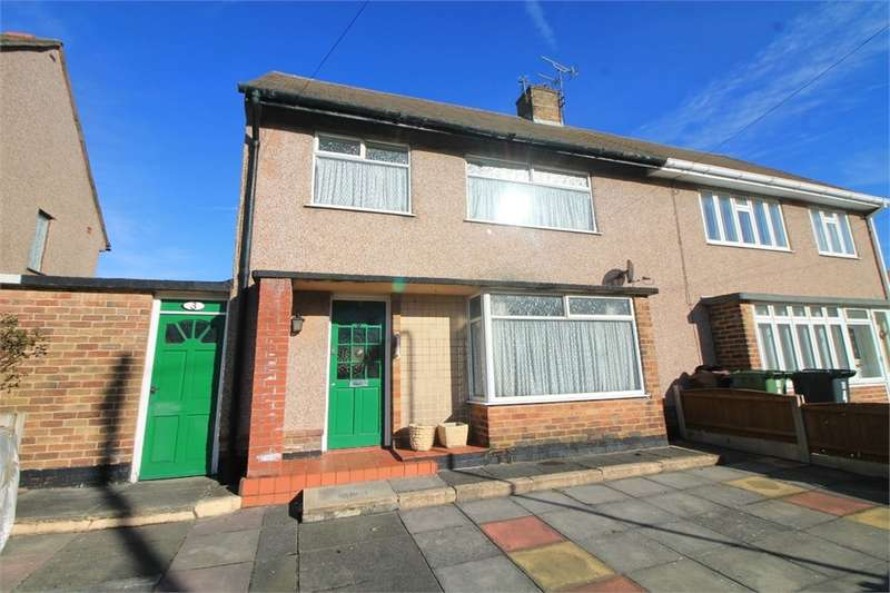 3 Bedrooms Semi Detached House for sale in Barncroft Place, Crosby, LIVERPOOL, Merseyside