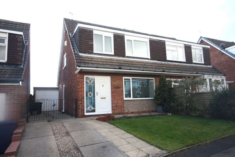 3 Bedrooms Semi Detached House for sale in Silverton Road, Guisborough, TS14