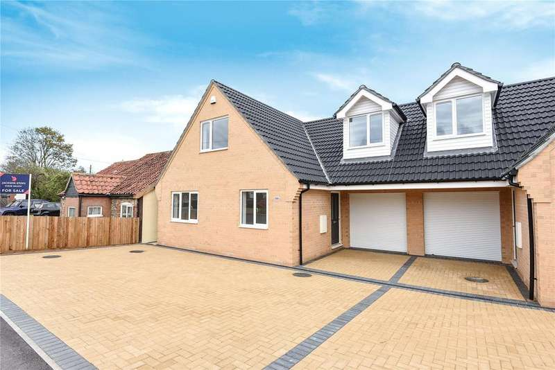 4 Bedrooms Semi Detached House for sale in Holmsey Green, Beck Row, Suffolk, IP28