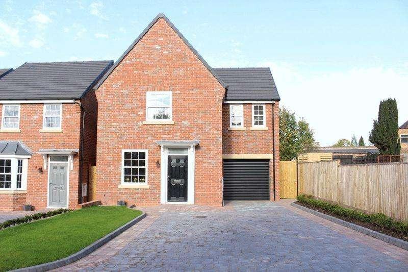 4 Bedrooms Detached House for sale in Newbridge Crescent, Newbridge, Wolverhampton
