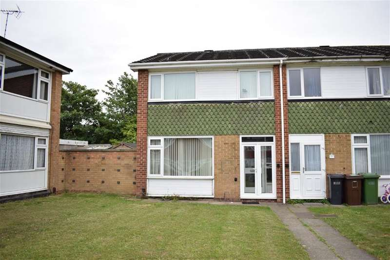 3 Bedrooms End Of Terrace House for sale in Foredrove Lane, Solihull, West Midlands
