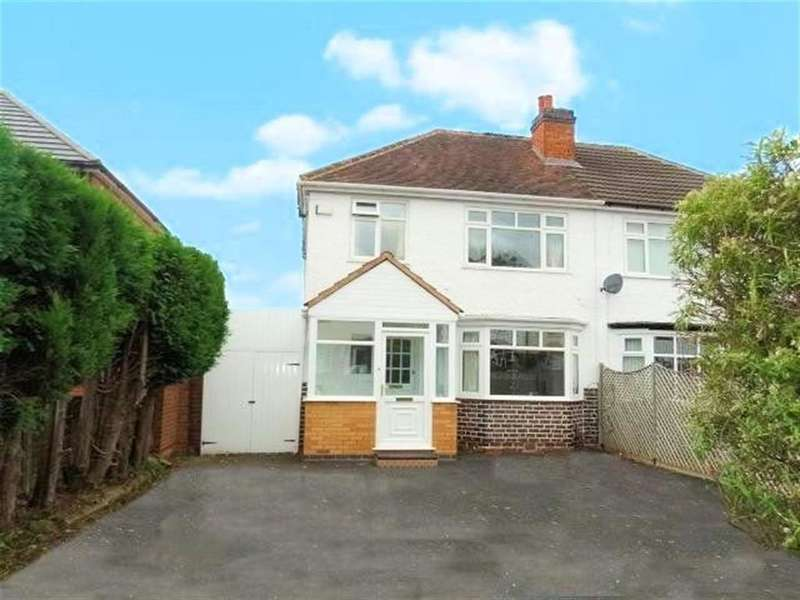 3 Bedrooms Semi Detached House for sale in Delamere Road, Birmingham, West Midlands
