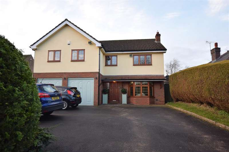 5 Bedrooms Detached House for sale in Creynolds Lane, Shirley, Solihull, West Midlands