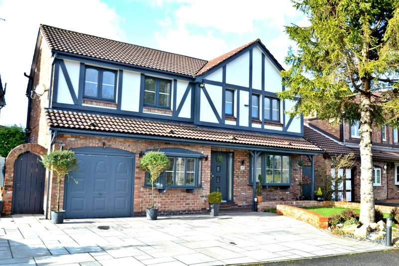 5 Bedrooms Detached House for sale in Marchbank Drive, Cheadle