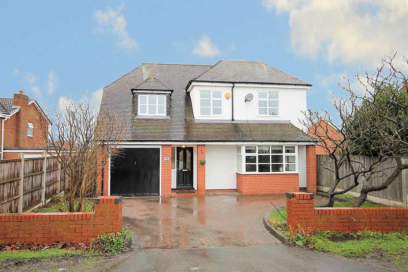 4 Bedrooms Detached House for sale in Dosthill Road, Two Gates, Tamworth, B77 1HY