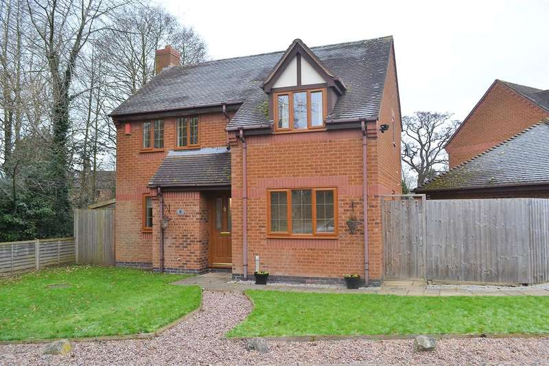 4 Bedrooms Detached House for sale in Bromwich Drive, Lichfield, WS13 8SD