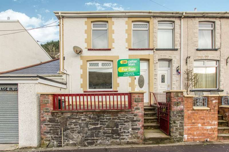 3 Bedrooms End Of Terrace House for sale in Margaret Terrace, Blaengwynfi, Port Talbot