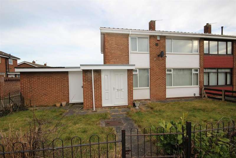 3 Bedrooms Semi Detached House for sale in Bellasis Grove, Clavering, Hartlepool