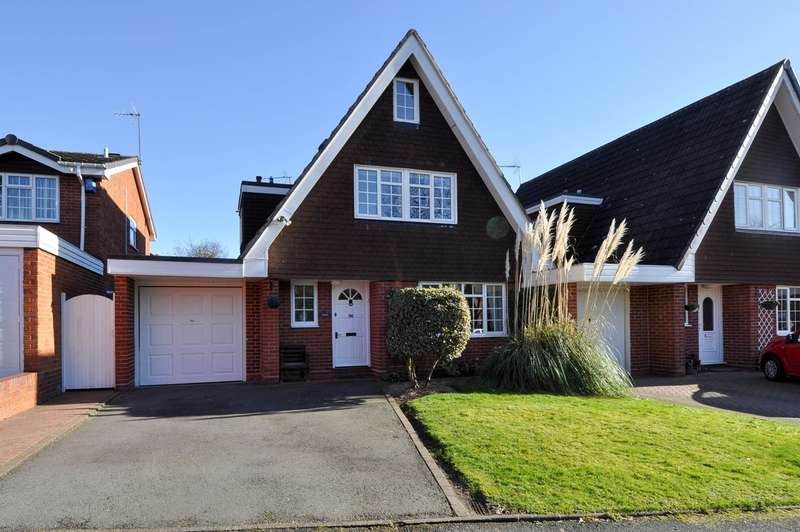 3 Bedrooms Link Detached House for sale in Abbotswood Close, Redditch, B98