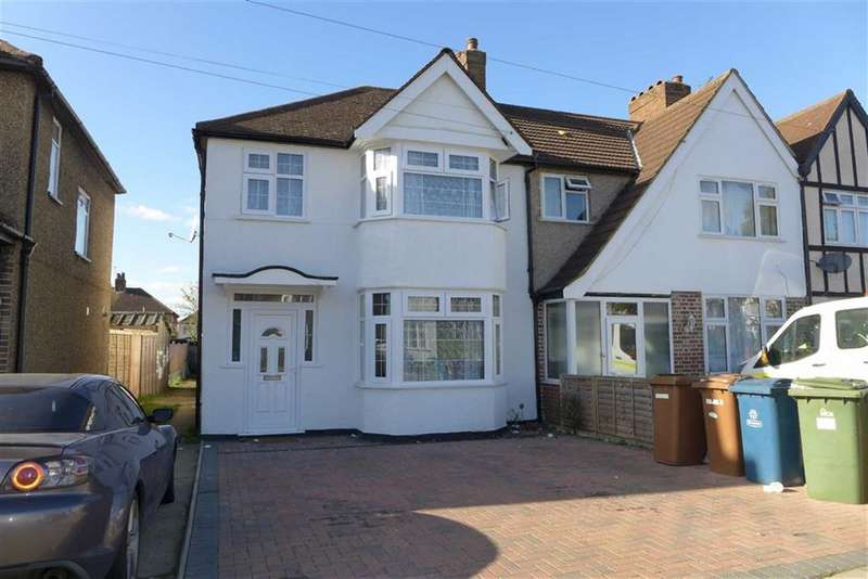 4 Bedrooms Semi Detached House for sale in Hibbert Road, Harrow Weald, Middlesex