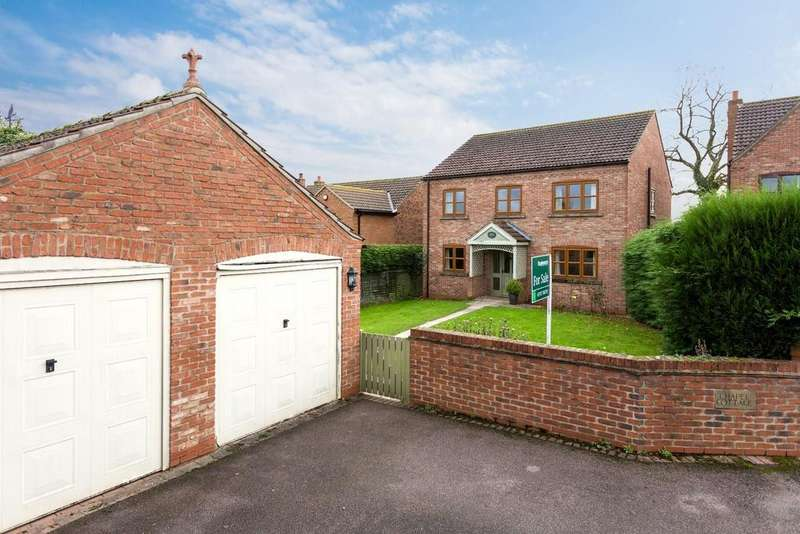 4 Bedrooms Detached House for sale in Chapel Close, North Duffield, Selby