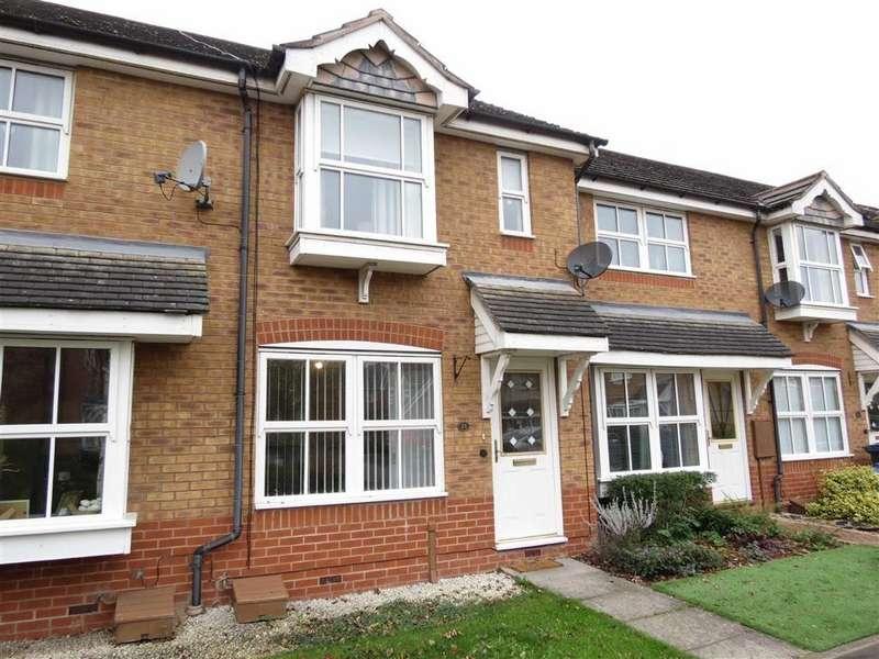 2 Bedrooms Terraced House for sale in Gowen Court, Berwick Grange, Shrewsbury, Shropshire