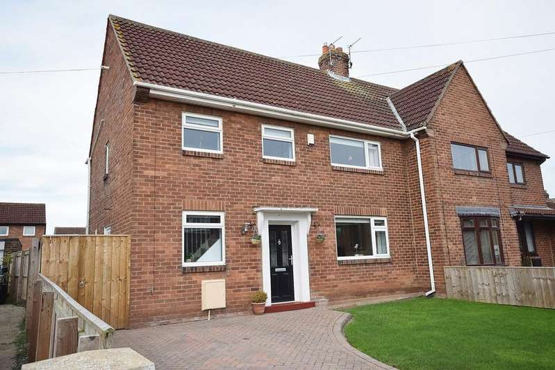 3 Bedrooms Semi Detached House for sale in Kirkley Drive, Ponteland, Newcastle upon Tyne, NE20