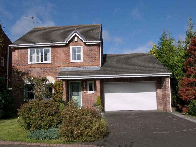 4 Bedrooms Detached House for sale in Swinton Close, Stobhill Manor, Morpeth