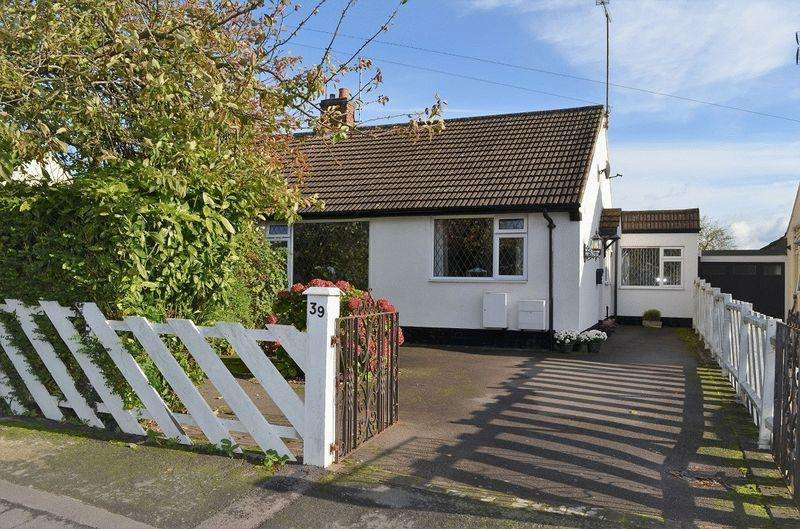 3 Bedrooms Semi Detached Bungalow for sale in Middlefield Road Cossington