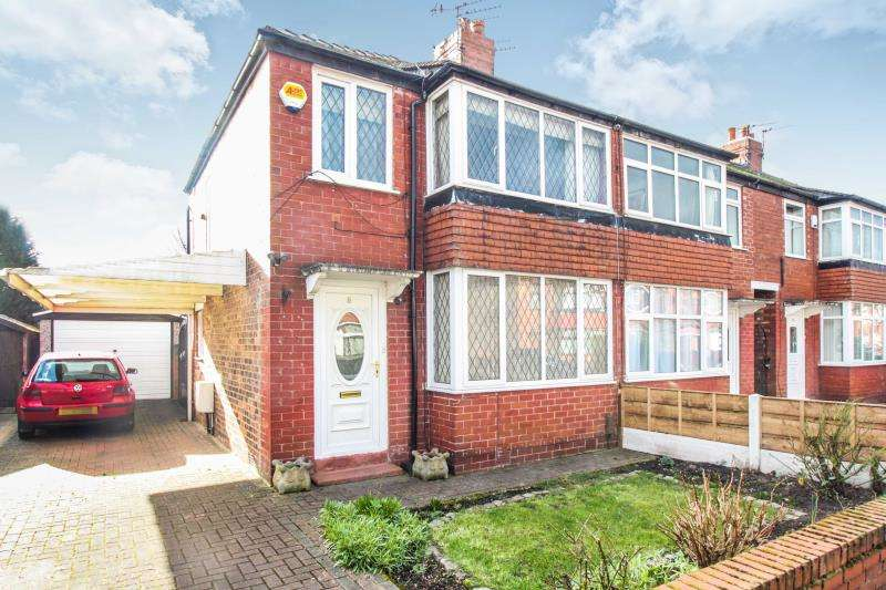 2 Bedrooms Semi Detached House for sale in Deane Avenue, Cheadle, Cheshire