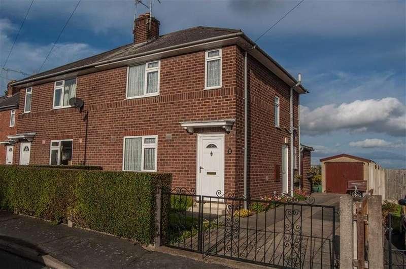 2 Bedrooms Semi Detached House for sale in The Ridgeway, Hawarden, Flintshire, Deeside, Flintshire