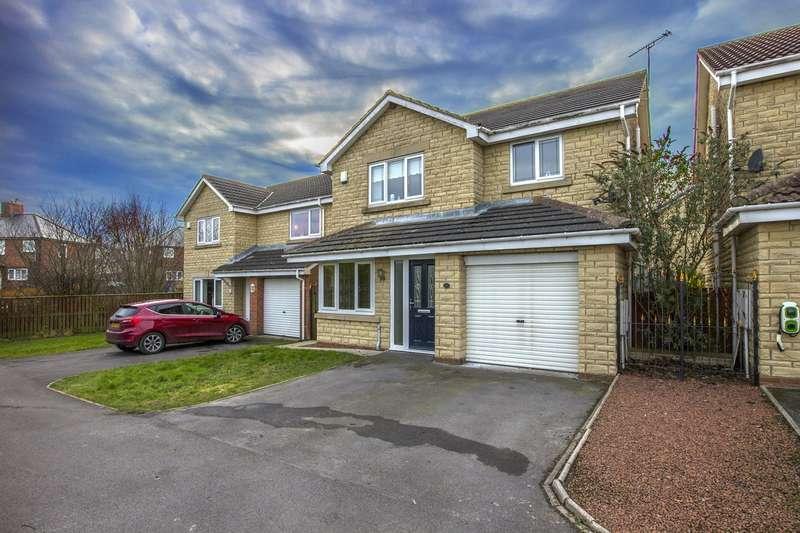4 Bedrooms House for sale in De Merley Gardens, Widdrington, Morpeth