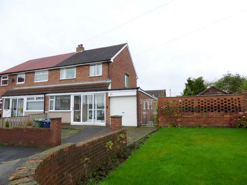 3 Bedrooms Semi Detached House for sale in Ross Lea, Houghton Le Spring