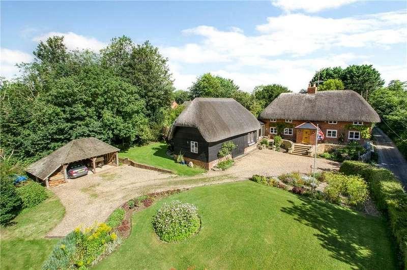 4 Bedrooms Detached House for sale in Orange Lane, Over Wallop, Stockbridge, Hampshire, SO20